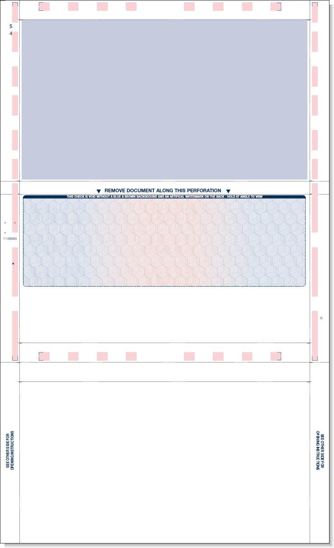 Blank Check Stock Voucher Business Laser Paper
